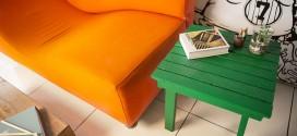 Projeto transforma cavaletes das eleições em objetos úteis
