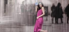 Guarda-chuva invisível cria vento que protege da água