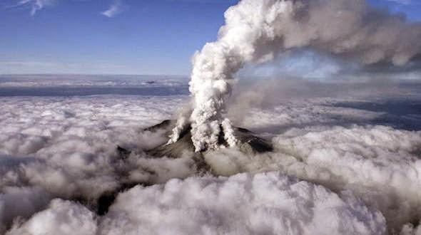 Vídeo mostra a inesperada erupção de vulcão no Japão