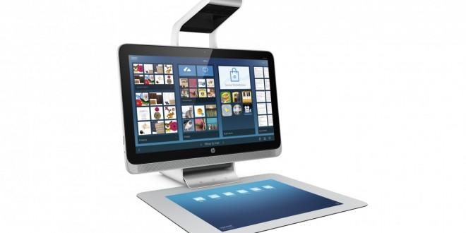HP lança computador com projetor embutido e scanner 3D