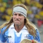 also Caniggia engana torcedores em Brasil x Argentina de masters em Natal
