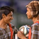 Gandulas no Equador se vestem de Chaves para homenagear Bolaños
