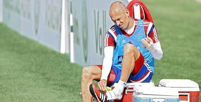 Jogador holandês Robben é mordido por crocodilo em pré-temporada do Bayern