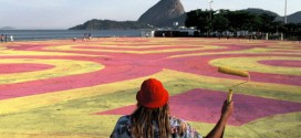 Ballantine's e artista criam, no Rio, maior GIF do mundo