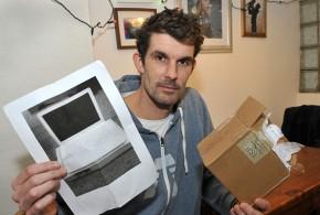 Britânico compra MacBook pela internet e recebe uma foto do computador