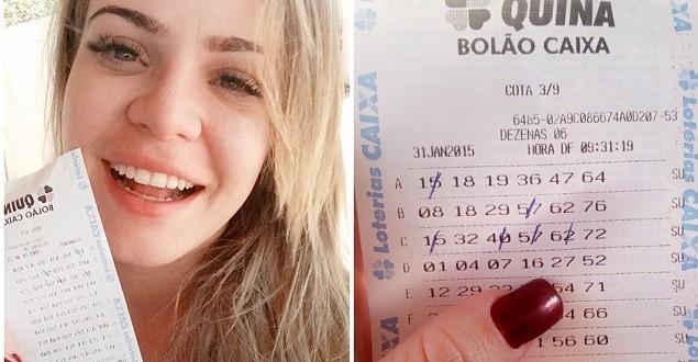 Ex-BBB Paulinha Leite ganha na loteria pela 24ª vez