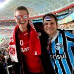 Jogo entre Internacional e Grêmio terá setor com torcida mista