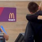 McDonald's vai aceitar selfies e abraços como pagamento