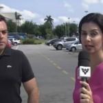 Equipe da Globo é assaltada ao vivo durante reportagem no Guarujá