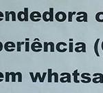 Loja só contrata vendedora que não tenha WhatsApp no celular