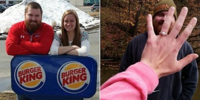 Burger King pagará casamento de Sr. Burger e Sra. King