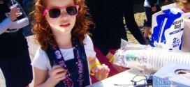Para ajudar irmão doente, menina de 5 anos arrecada R$ 60 mil vendendo suco