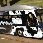 Ônibus movido a fezes bate recorde na Inglaterra