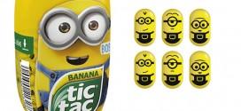 Tic Tac dos Estados Unidos lança edição especial dos Minions