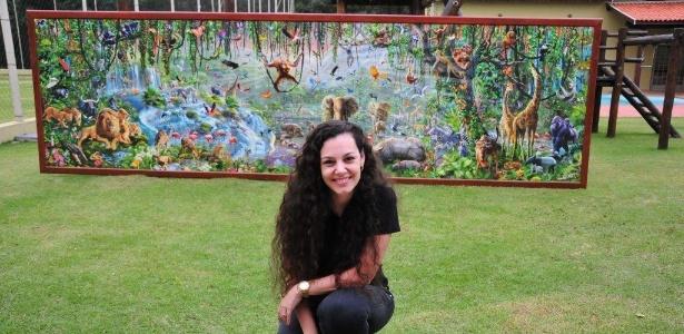 Brasileira leva 11 meses para montar maior quebra-cabeça do mundo