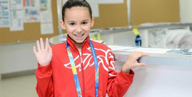 Criança de 10 anos vai nadar no Mundial de Esportes Aquáticos de Kazan