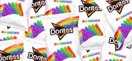 Doritos lança salgadinho colorido em apoio à causa LGBT