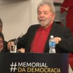 Em discurso, Lula brinca com redução da velocidade e ciclovias de Haddad