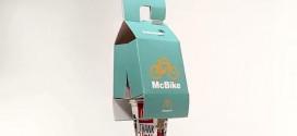 McDonald's cria embalagem prática para ciclistas