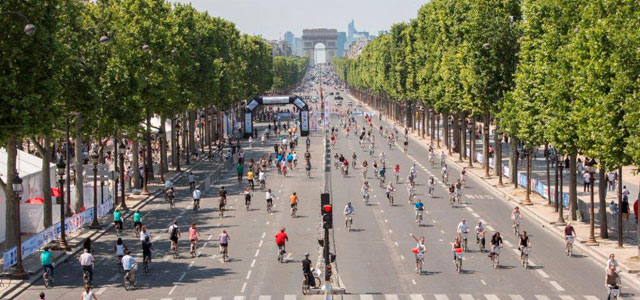 Paris e Bruxelas fecharão ruas para carros durante um dia em setembro